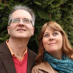 Knut Jørgen Røed Ødegaard og Anne Mette Sannes